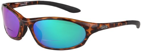 - ONOS Grand Lagoon Polarized Sunglasses (+2.5 Add Power), Black, Green/Amber