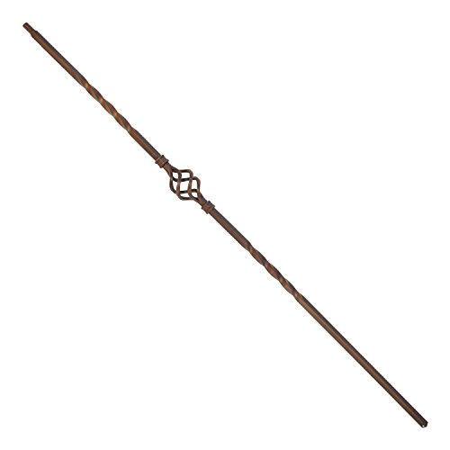 (ALEKO BSTR002B Baluster Stair Spindle Supply Single Basket Design 1/2 Inch Oil Rubbed Cast Iron Bronze Finished Lot of 10)