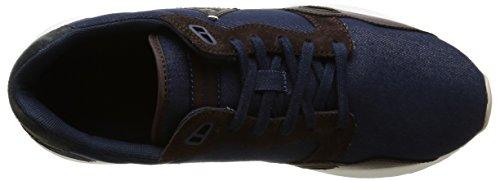 Le Coq Sportif Lcs R900 Craft Herren Sneaker Blau - Bleu (Dress Blue/Reglisse)