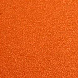 Circle Golf Leather Bag Tag , Orange