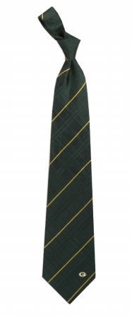 Eagles Wings NFL Green Bay Packers Men's Woven Silk Oxford Necktie, One Size, Multicolor