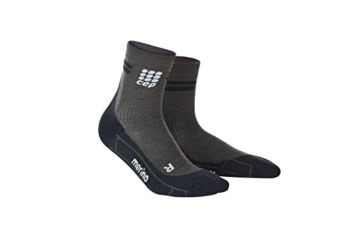 CEP Women's Dynamic+ Merino Short Socks for Running, Cross Training and Fitness w/ Compression Technology That Comfortably Reduces Swelling While Enhancing Performance