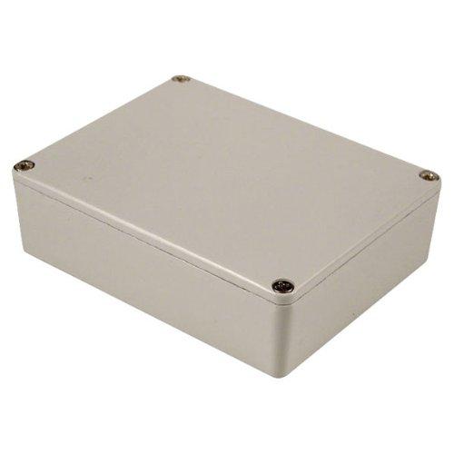 1590xxlg Painted Aluminium 'stomp Box' Enclosure 145 X 121 X 39 Grey Hammond 1590XXLG-HAMMOND_IT