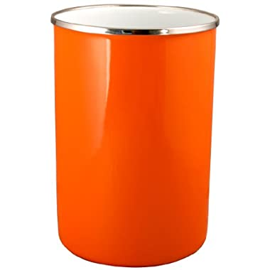 Reston Lloyd 82500 Calypso Basics Enamel on Steel Utensil Holder, Orange