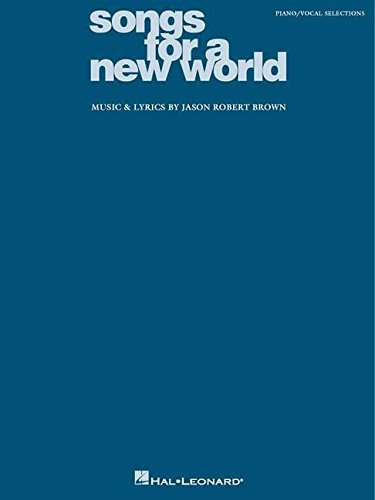 Songs for a New World: Piano/Vocal (His Song Sheet Music)