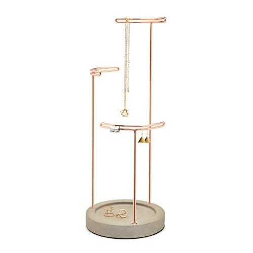 Umbra Tesora Jewelry Stand  Copper