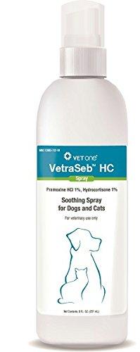 Vet One 600125 VetraSeb HC Spray Pet Itch Remedies, 8 oz