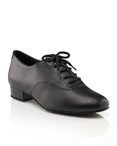 Capezio Men's 1'' Standard Ballroom Shoe,Black,7.5 W US by Capezio