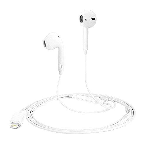 Lightning Earphones, Headphones with Microphone Lightning Earphone and Noise Isolating headset Made For iPhone8/8 plus iPhone7/7 plus and iPhone X Earbuds Earphones (Bluetooth Connectivity) by CulaLuva (Image #1)