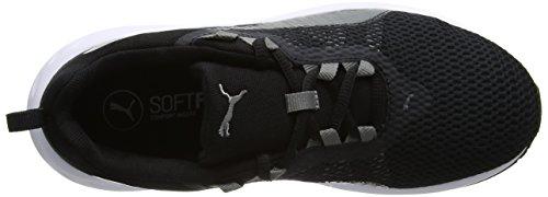 Puma Flare 2 Jr, Zapatillas Unisex Niños Negro (Puma Black-quiet Shade 02)
