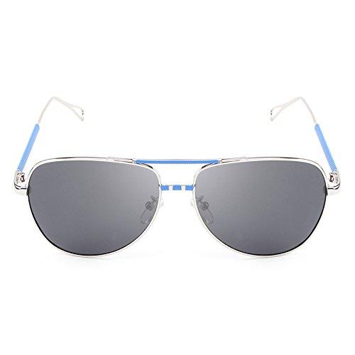 Viaje UV ZX Sol blue Masculinas Gafas Gafas piloto Black polarizadas Sol la de Gafas de la de de de Marca de de Vendimia Gafas De Sol Gafas Diseñador Gafas clásica Hombres rHfAqrx