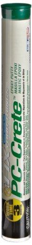 PC Products PC-Crete Concrete Epoxy, Hand Moldable Putty, 4oz Stick, Concrete Gray 45589