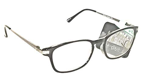 Foster Grant City Sights Men's Andrew Reading glasses NWT (Black, 2.00) ()