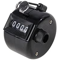 Silverline 100112 Tally Clicker Counter 4-Digit