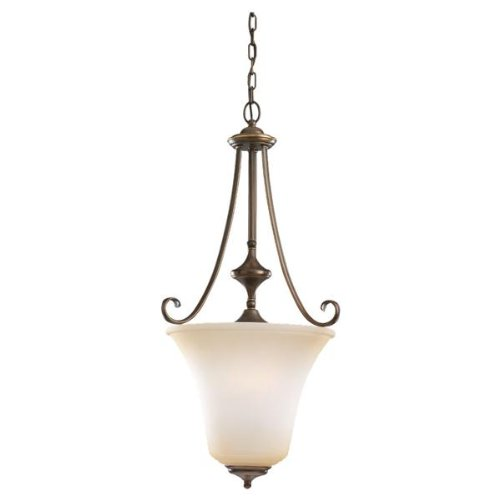 - Sea Gull Parkview Pendant - 17.5W in. Russet