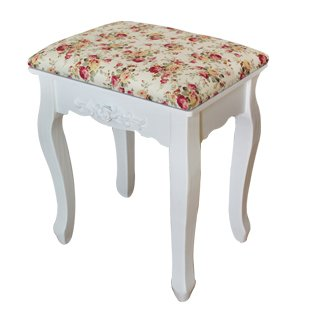 Stool Dana Carrie Green Salad Dressing Chair Fabrics Small Party of White Dressing Table Solid Wood Changing Shoes Bench, Rose red