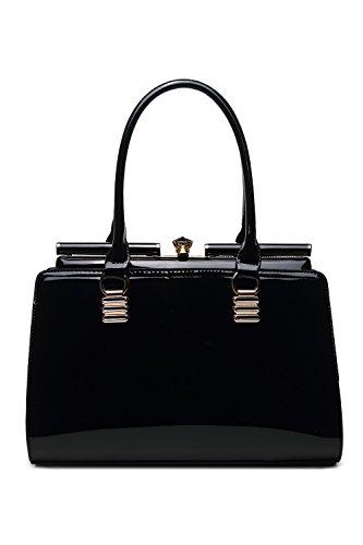 Designer Patent Leather Handbags: Amazon.com
