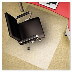 Deflecto Polycarbonate EconoMat, Clear Chair Mat, All Carpet