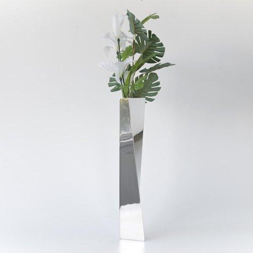 Amazon Alessi Crevasse Vase By Zaha Hadid In Steel Home Kitchen