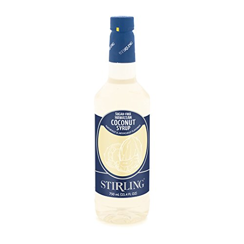 Stirling Sugar-Free Hawaiian Coconut Syrup