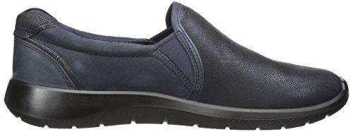 ECCO Womens Soft 5 Slip On Sneaker Marine/Navy KWRQd