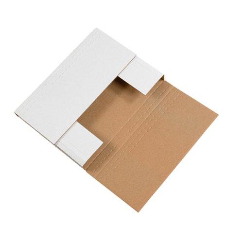 - Aviditi M2BK Corrugated Easy-Fold Mailer, 12-1/8