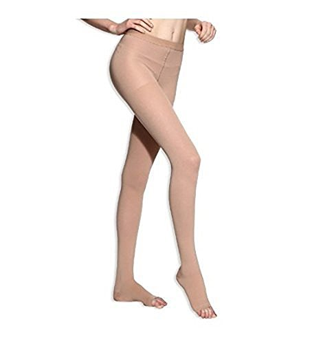 BriteLeafs Sheer Compression Pantyhose 20-30 mmHg, Firm S...