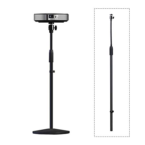 (Projector Stand,Long Rod Part,LANMI Adjustable Mount Floor Stand Length can be Adjusted, Soft Iron Pipe can be flexibly Adjusted,31.5