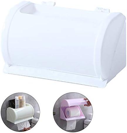 トイレットペーパーホルダー、バスルームホーム防水衛生ペーパーディスペンサー、壁掛けトイレットペーパーロールホルダーバスルームアクセサリー