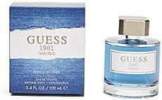 9349203a2bca6 Men s Guess 1981 Indigo 3.4 oz 100 ml Eau De Toilette Spray for Men