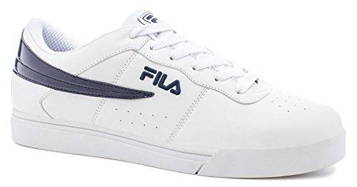Fila Men's Vulc 13 Low White Casual Sneakers 13 M