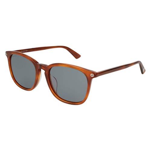 (Sunglasses Gucci GG 0154 SA- 003 HAVANA/BLUE)