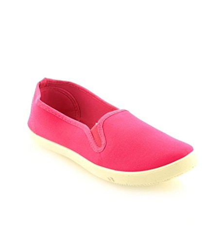 Pretty Shoes - Mocasines Mujer fucsia