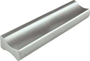 Tirador para muebles Malaga 88 mm de aluminio