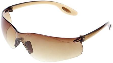 Dabixx 眼鏡, サイクリングサングラスアンチUVメガネスポーツゴーグル防風アンチサンドアイウェア - 褐色