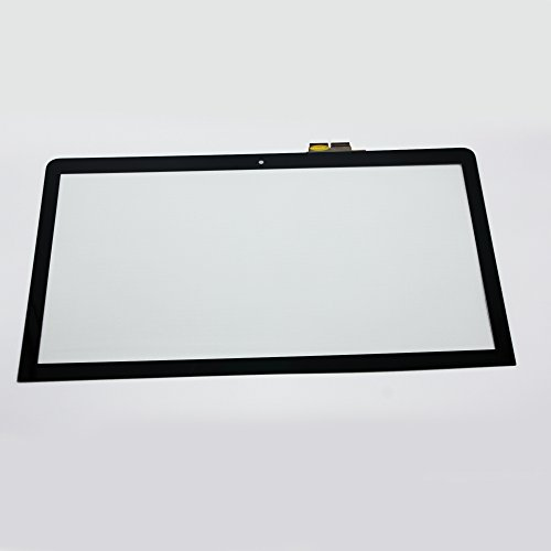 LCDOLED 15.6 inch For Sony SVF152A29M SVF15212SN SVF152C29M SVF152C29L SVF153A1YM SVF153B1YM SVF153N1YM SVF152100C SVF1521A1EW SVF15211SNB Laptop Touch Screen Glass Digitizer by LCDOLED