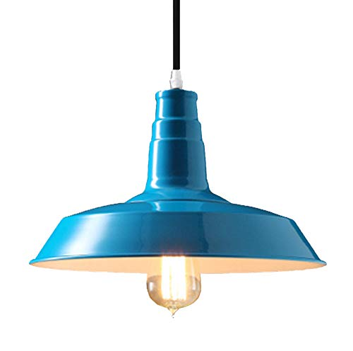 Dark Blue Pendant Light