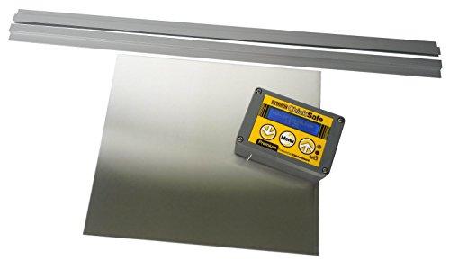 Brinsea-Products-Chick-Safe-Premium-Automatic-Chicken-Coop-Door-Opener-and-Door-Kit-GreyYellow
