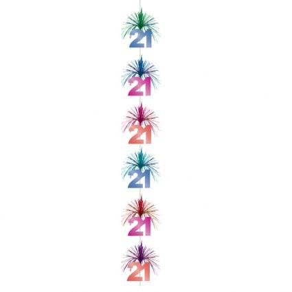 Amscan International The Party Continues Cascade Column Decoration 21st 991139