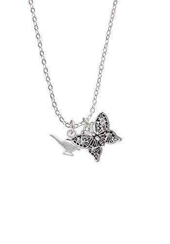Aladdin's Lamp - Butterfly Sophia Necklace, 18