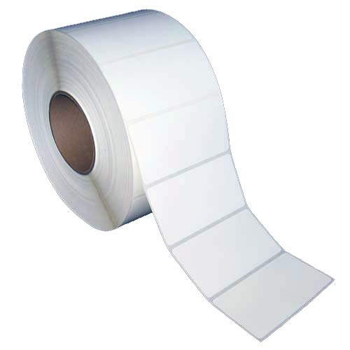 "4x2 inch Direct Thermal Paper Labels - White - Rolls - 8"" OD"