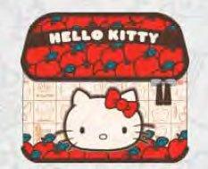Loungefly Hello Kitty Sanrio Cosmetic Train Case Apple Design