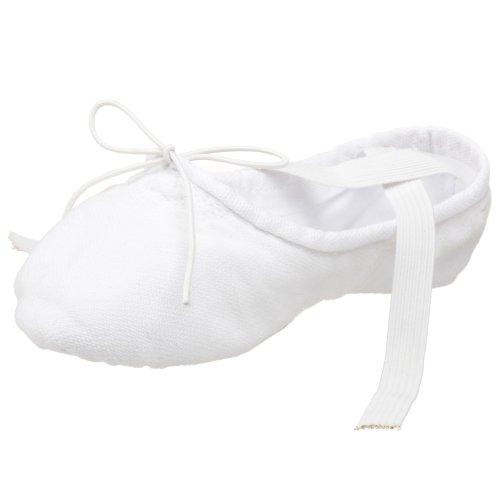 2030 in Capezio Cobra Leinen Weiß Ballettschläppchen qUx6HR