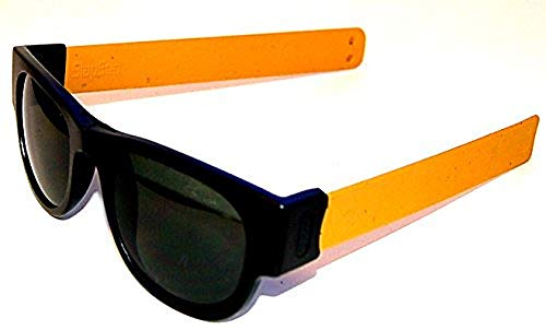 Slapsee Folding Sunglasses Mustard ()
