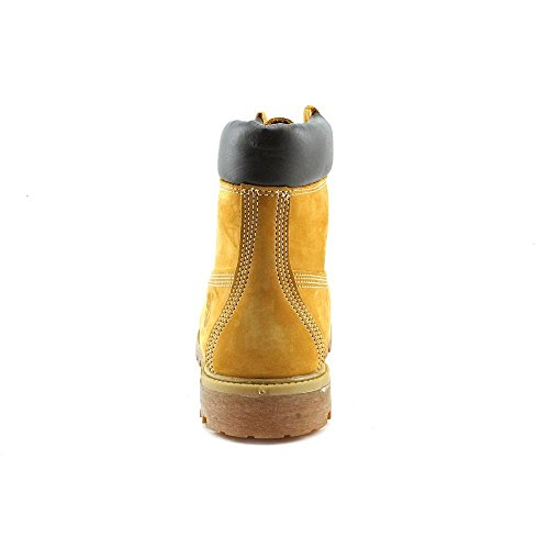 Timberland Af 6in Auth, Botas para Hombre Amarillo (Wheat Nubuck)
