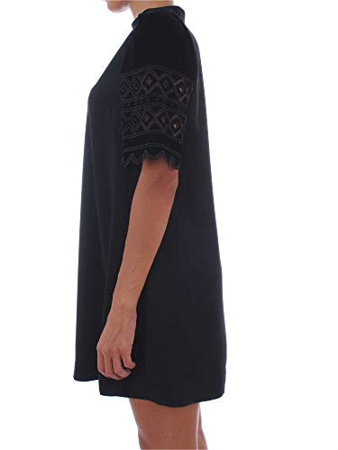 Para Vestido Black Mujer Pinko Pre CqXwA4