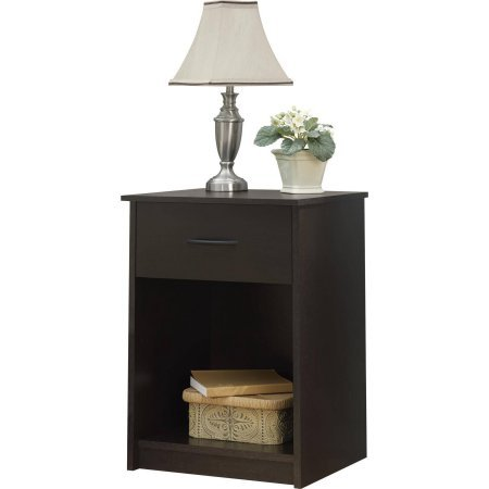 Mainstays nightstand end table multiple finishes for 12 inch accent table