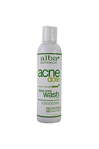 Alba Botanica Acnedote Deep Pore Wash 6 Oz 5 Pack