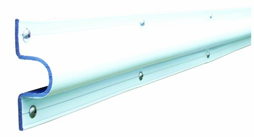(Dock Edge C Guard PVC Dock Profile Guard, 24-Feet, White)