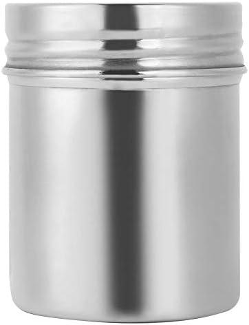 茶缶 茶筒 キャニスター ステンレス製 茶葉 コーヒー豆収納 密封容器 保存容器 蓋付き 防湿保存缶 茶の葉 お菓子 砂糖 香料に適用 キッチン用品 シルバー 275ml・420ml 2サイズ(275ml)